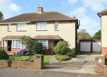 Thumbnail 3 bed semi-detached house for sale in Nutley Crescent, Goring By Sea, Worthing