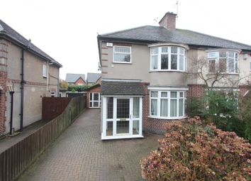 Thumbnail 3 bed semi-detached house for sale in Wolvey Road, Burbage, Hinckley