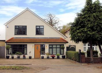 Thumbnail 4 bedroom detached house for sale in Kingsmead, Nazeing Road, Nazeing
