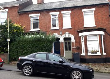 Thumbnail 3 bed terraced house to rent in Chalk Hill Road, Norwich