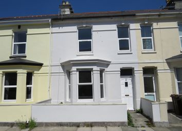 Thumbnail 3 bed terraced house for sale in Cromwell Road, Plymouth