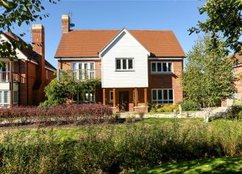 Thumbnail 4 bed detached house for sale in Willowbourne, Fleet