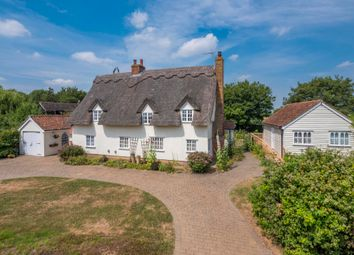 Thumbnail 5 bed detached house for sale in Kettlebaston, Ipswich, Suffolk