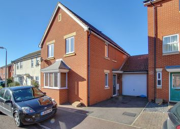 Thumbnail 3 bed link-detached house for sale in Septimus Drive, Highwoods, Colchester