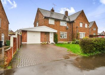 Thumbnail 3 bedroom semi-detached house for sale in Carter Lane, Shirebrook, Mansfield, Nottinghamshire