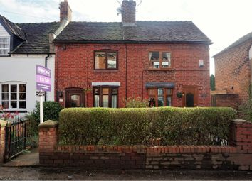 Thumbnail 2 bed terraced house for sale in Main Road, Wybunbury