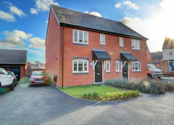 Thumbnail 3 bed semi-detached house for sale in Mercia Way, Kempsey, Worcester