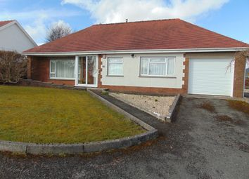Thumbnail 3 bed detached bungalow for sale in 11 Heol Hen, Five Roads, Llanelli, Carms