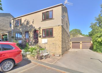 Thumbnail 3 bed semi-detached house for sale in Oaktree Court, Silsden, Keighley