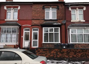 Thumbnail 3 bed terraced house to rent in Woodlands Road, Saltley, Birmingham