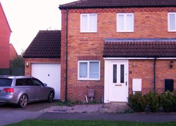 Thumbnail 2 bedroom semi-detached house to rent in Hay Barn Road, Deeping St. Nicholas, Spalding