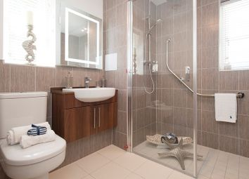 Thumbnail 1 bed flat for sale in 100 Riverdene Place, Bitterne Park, Southampton