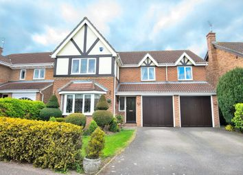 Thumbnail 5 bed detached house for sale in Leigh Drive, Elsenham, Bishop's Stortford