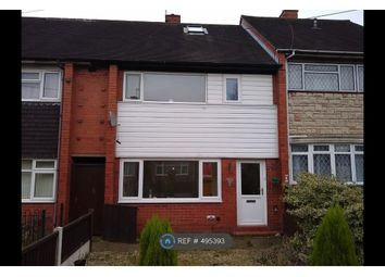 Thumbnail 3 bed terraced house to rent in Wrenbury Crescent, Stoke-On-Trent