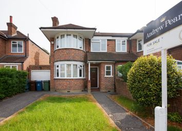 Thumbnail 3 bedroom semi-detached house for sale in Cannonbury Avenue, Pinner