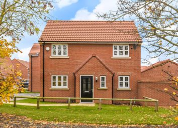Thumbnail 3 bed detached house for sale in Overend Avenue, Pocklington, York