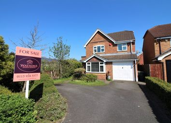 Thumbnail 3 bed detached house for sale in Mornington Crescent, Nuthall, Nottingham