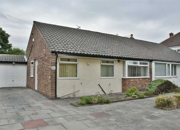 Thumbnail 2 bed semi-detached bungalow to rent in Greenland Road, Farnworth, Bolton