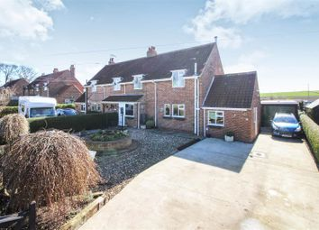 Thumbnail 3 bed semi-detached house for sale in Millside, Kilham, Driffield