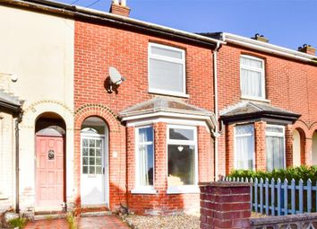 Thumbnail 3 bed terraced house for sale in Hillside, Newport, Isle Of Wight