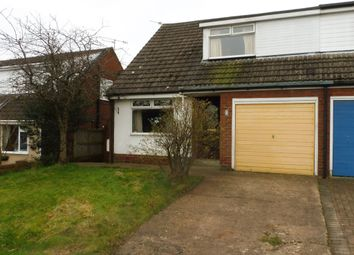 Thumbnail 3 bed semi-detached bungalow for sale in Lodge Drive, Moulton, Northwich