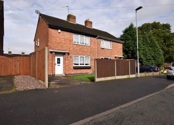 Thumbnail 2 bed semi-detached house for sale in Mount Avenue, Barwell, Leicester