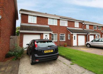 Thumbnail 3 bed semi-detached house for sale in The Furlongs, Redcar, Durham