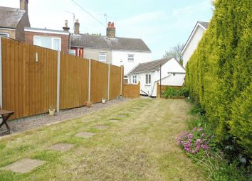 Thumbnail 2 bedroom end terrace house for sale in East Delph, Whittlesey, Peterborough