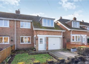 Thumbnail 3 bed semi-detached house for sale in Audern Road, Bottesford
