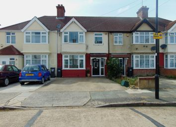 Thumbnail 3 bed terraced house to rent in Clevedon Gardens, Hounslow