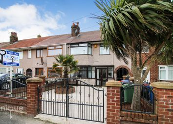 Thumbnail 3 bed terraced house for sale in Witton Avenue, Fleetwood