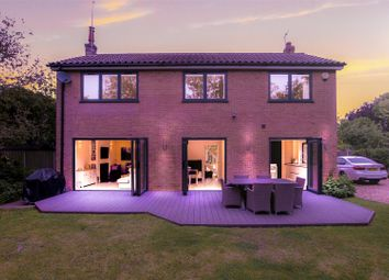 Thumbnail 4 bed detached house for sale in Maltkiln Lane, Brant Broughton, Lincoln