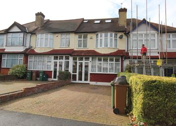 Thumbnail 5 bed terraced house to rent in Stoneleigh Avenue, Worcester Park