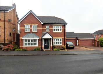 Thumbnail 4 bed detached house for sale in Mitchell Close, Worksop