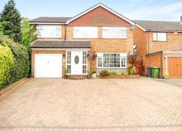 Thumbnail 4 bed detached house for sale in Coleshill Road, Water Orton, Birmingham