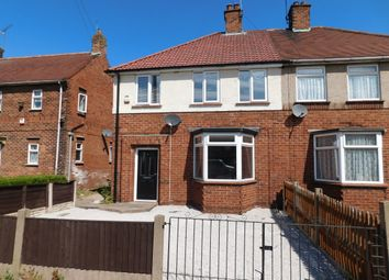 Thumbnail 3 bed semi-detached house to rent in Brown Avenue, Mansfield Woodhouse, Mansfield