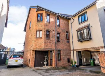 Channel Way, Ocean Village, Southampton SO14. 4 bed end terrace house for sale