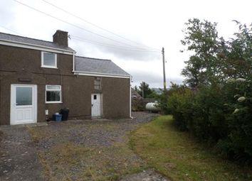 Thumbnail 1 bed semi-detached house for sale in Hen Siop, Upper Llandwrog, Caernarfon, Gwynedd