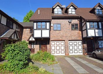 Thumbnail 4 bed town house for sale in Blackburn Gardens, West Didsbury, Manchester