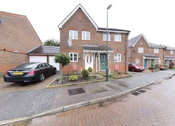 Thumbnail 3 bed semi-detached house for sale in Wentworth Close, Thamesmead, London