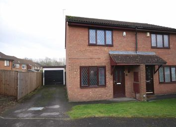Thumbnail 2 bed semi-detached house for sale in Ascham Road, Grange Park, Swindon