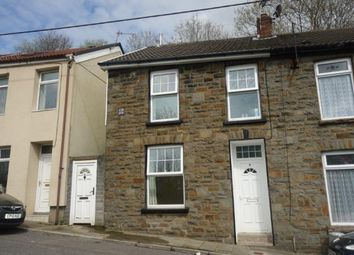 Thumbnail 2 bed end terrace house for sale in Commercial Street, Blaenllechau