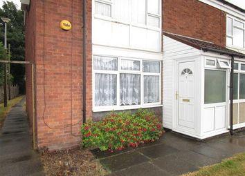 Thumbnail 1 bedroom maisonette to rent in Delville Close, Wednesbury