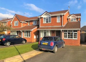Thumbnail 3 bed detached house for sale in Greenfinch Close, Uttoxeter