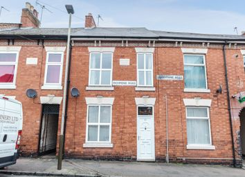 Thumbnail 2 bed terraced house for sale in Richmond Road, Leicester