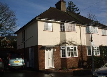Thumbnail 1 bed maisonette to rent in Hart Road, St.Albans