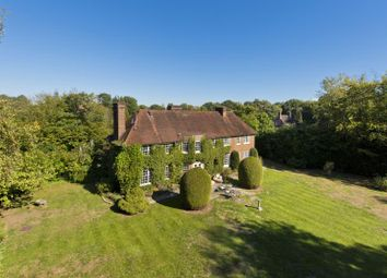 Thumbnail 4 bed detached house to rent in Dolphins, Broadwater Road South, Burwood Park, Walton On Thames