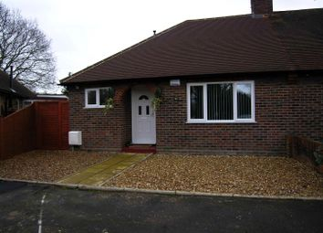 Thumbnail 3 bed semi-detached bungalow for sale in Chestnut Grove, Woking