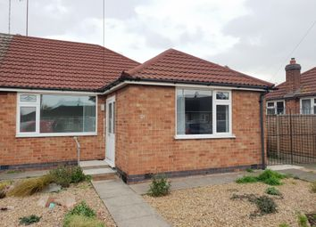 Thumbnail 3 bed semi-detached bungalow to rent in Alexandra Street, Thurmaston, Leicester
