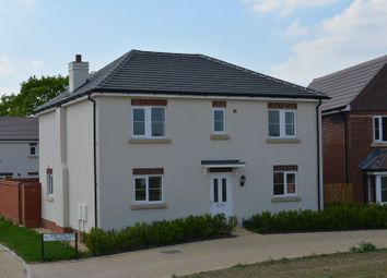 Thumbnail 4 bed detached house for sale in Whittington Crescent, Wantage
